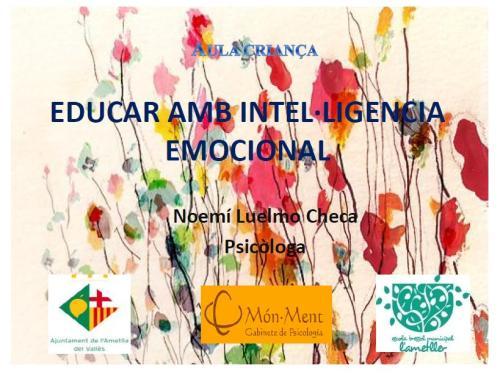 Educar amb intel.ligència emocional